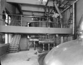 Vancouver Breweries Ltd. [interior view - mechanics]