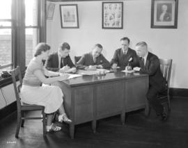 Musicians Union Officials [at 319 West Pender Street]