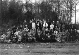 Vancouver Natural History Society [members assembled at] Trout Lake