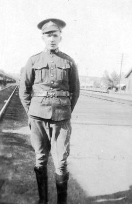 """Eddie"" [soldier accompanying the Chinese Labour Corps]"