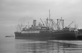 "[Freighter ""President Quezon"" at dock]"