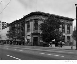 Merchants Bank Building, Pender Street and Carrall Street