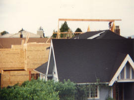 House under construction on 2900 block Point Grey Road