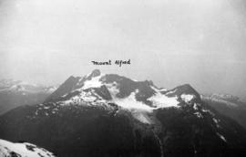 [The peaks of Mount Alfred]