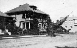 [View of yard and part of house at 5301 Lexington Avenue]
