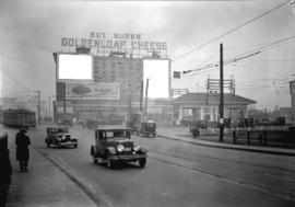 Taken for Duker and Shaw Billboards Ltd. [north end of Granville Street Bridge looking north to P...