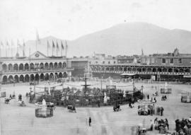 Square at Lima - South America 1867