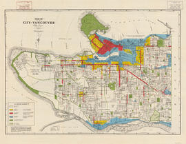 Map of City of Vancouver, British Columbia