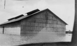 Submerged building