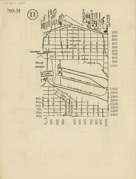 Sectional map and street directory of Vancouver, British Columbia : [Glen Drive to Railway Avenue...