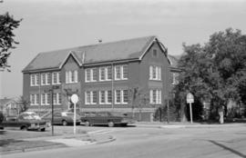 1551 Cypress Street, Henry Hudson School - brick, wood