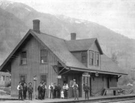 [The station at North Bend]