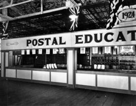 Postal education exhibit