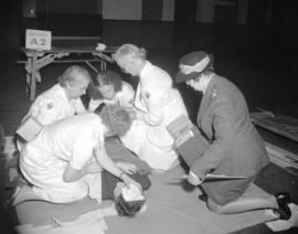 A.R.P. first aid competition