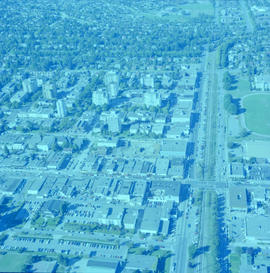 Aerial photograph of Kerrisdale
