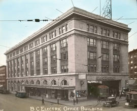 B.C. Electric Office Building