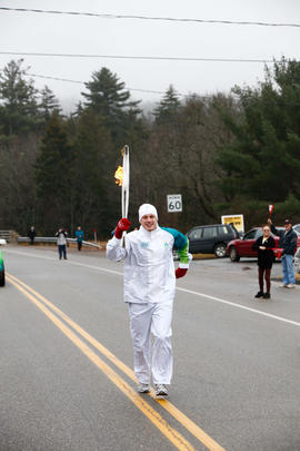 Day 027, torchbearer no. 056, Michael H - Welsford
