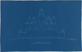 1886-1936 Pioneer monument [front elevation]