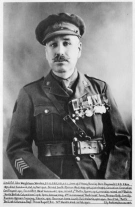 Portrait of Lieut. Col. John Weightman Warden