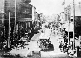 July 1st 1890, Cordova Street