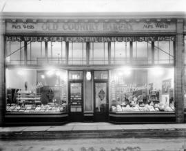 Mrs. Wells Old Country Bakery [1064 - 1066 Robson Street]
