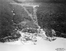 [Aerial view of Britannia Mining & Smelting Co. Ltd.]