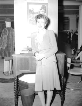 Miss MacDonald [clerk in] Fur [Department] Hudson Bay Company