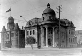 Library and City Hall, Vancouver - 1907