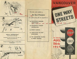 One way streets : illustrations of special intersections