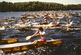 La Classique, Shawnigan, P.Q., 3 days long, the start of a successful [canoe] race