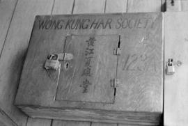 Mail box of Wong Kung Har Society, 100 block East Pender