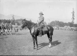 72nd Seaforths - man in uniform on a horse
