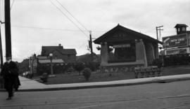 Imperial Service Station, corner Broadway and Granville Street
