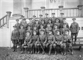 29th Battalion [officers group photo]