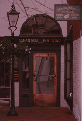 Alhambra Building, Gaoler's Mews