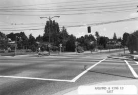 Arbutus [Street] and King Edward [Avenue looking] east