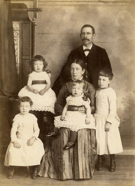 [Unidentified studio family portrait]