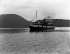 """Comox"" in Agamemnon Bay"