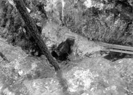 [View down a canyon]