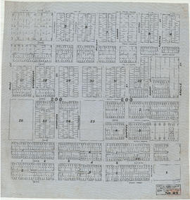 Sheet No. 25 [Argyle Street to Fifty-third Avenue to Ross Street to Sixty-first Avenue]
