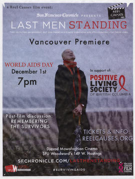 A Reel Causes film event : San Francisco Chronicle presents Last Men Standing : Vancouver premiere