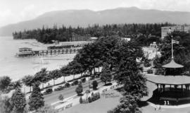 Alexandra Park and English Bay
