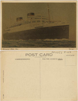 "Cunard White Star ""Georgic"""