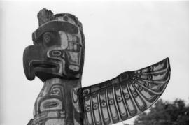 [Thunderbird at] top of totem pole