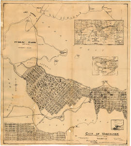 City of Vancouver, Canadian Pacific Town Site