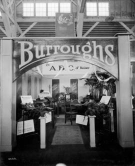 Burroughs display of office equipment