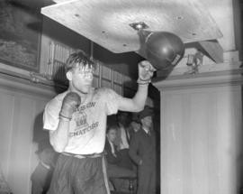 Harvey Dubs Navy Boxer