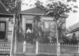 [Exterior of the Campbell residence at 613 Homer Street]