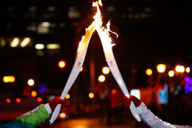 Day 26 Torches and the flame in New Brunswick