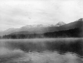 Morning mists - Alta Lake